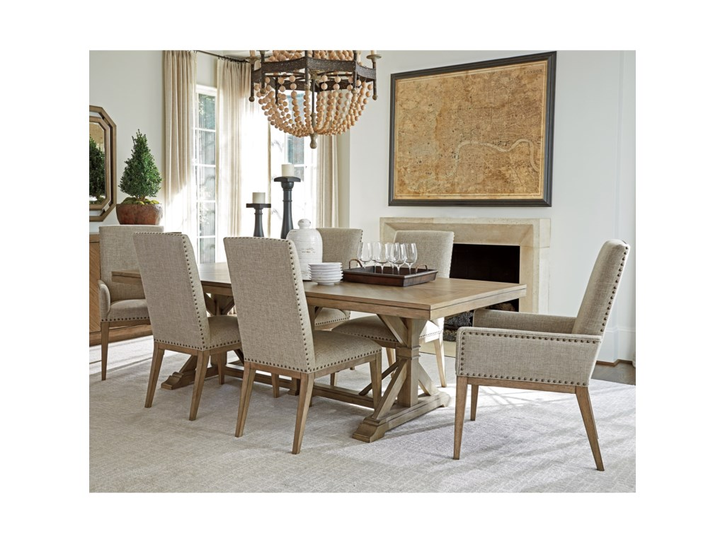 Tommy Bahama Home Cypress Point7 Pc Dining Set