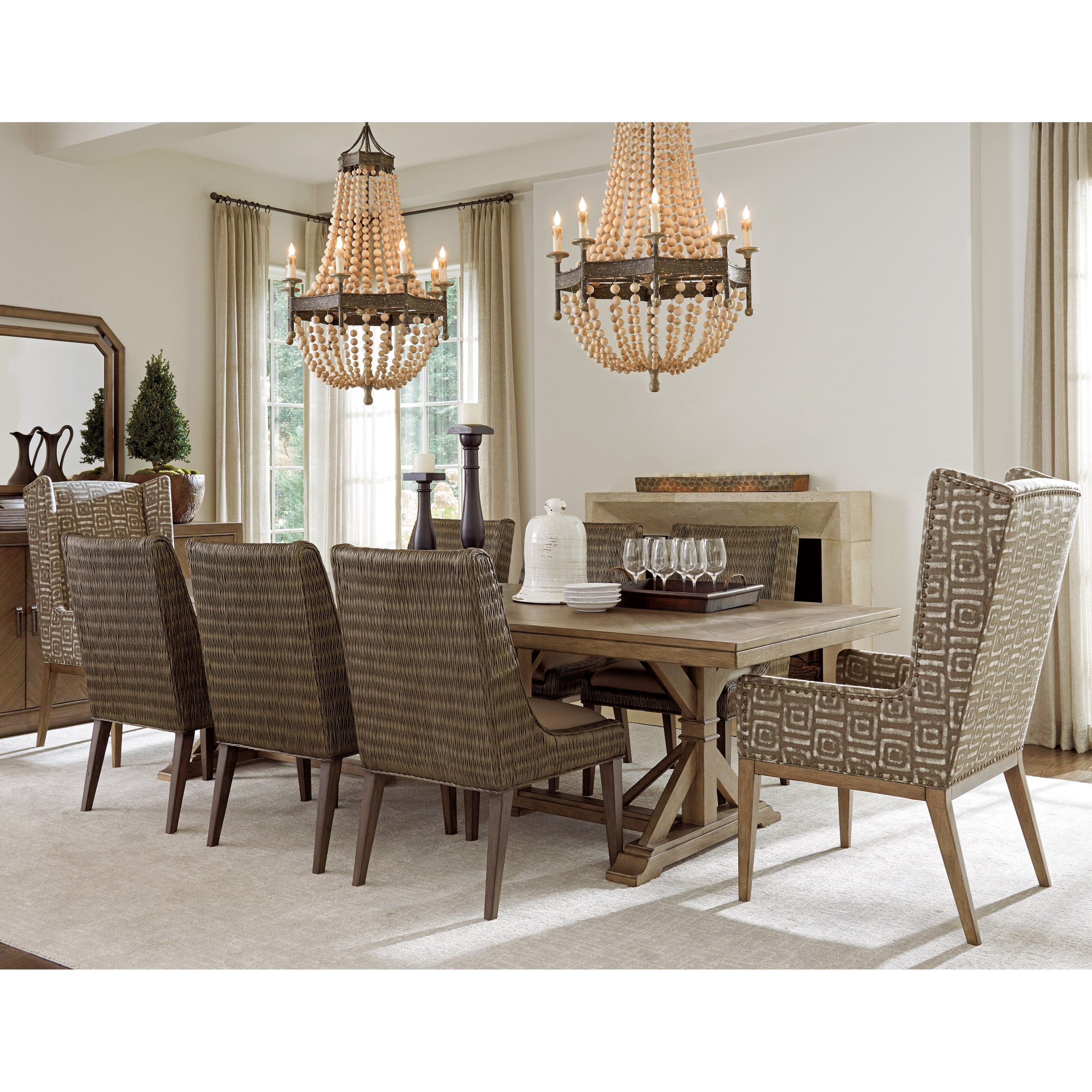 Tommy Bahama Home Cypress Point9 Pc Dining Set ...