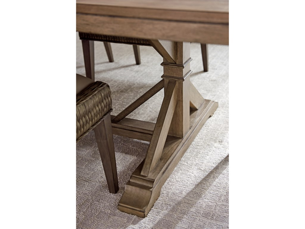 Tommy Bahama Home Cypress PointPierpoint Double Pedestal Table
