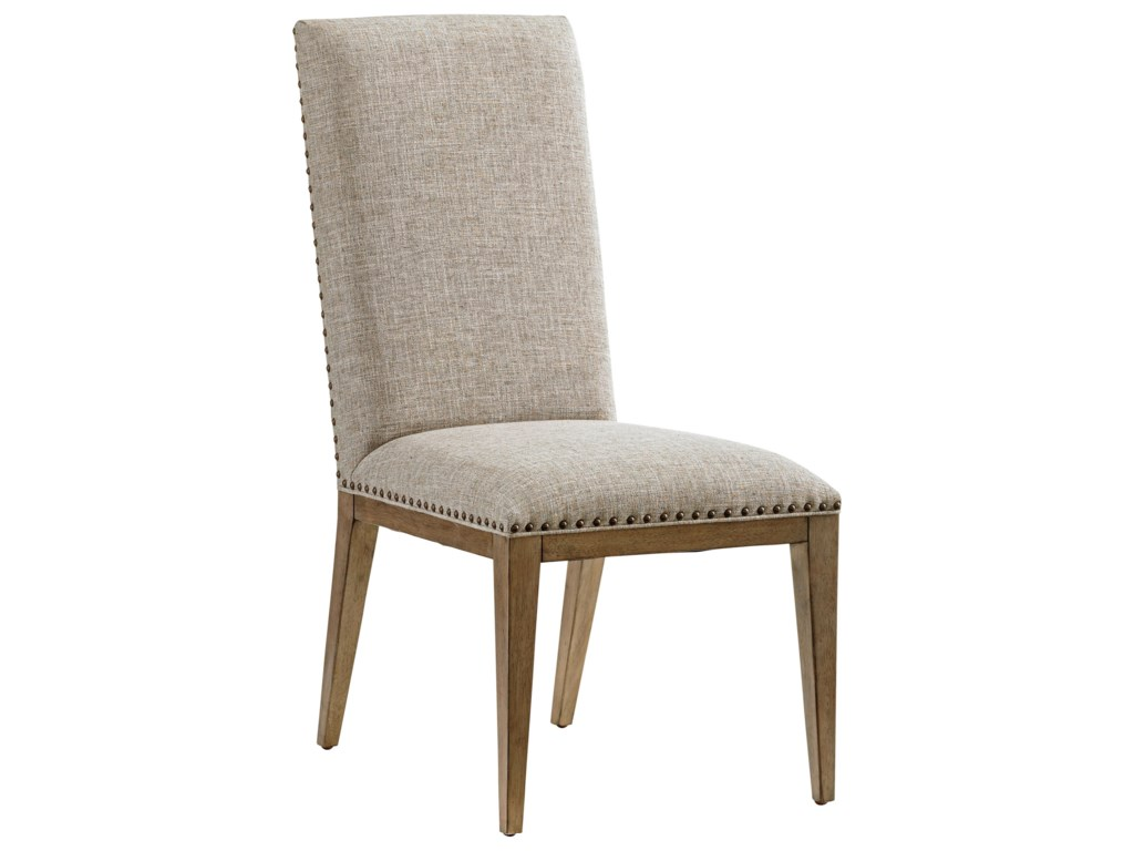 Tommy Bahama Home Cypress PointDevereaux Upholstered Side Chair