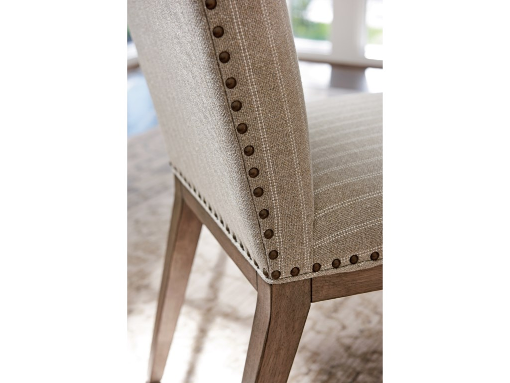 Tommy Bahama Home Cypress PointDevereaux Upholstered Side Chair Custom