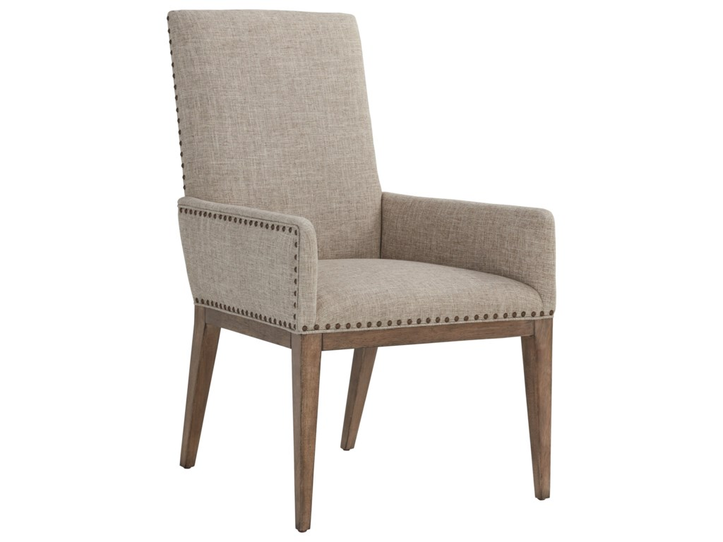Tommy Bahama Home Cypress Point 561-881-01 Devereaux Upholstered Arm ...