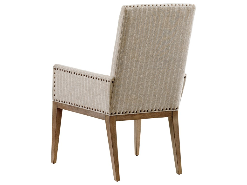 Tommy Bahama Home Cypress PointDevereaux Upholstered Arm Chair Custom