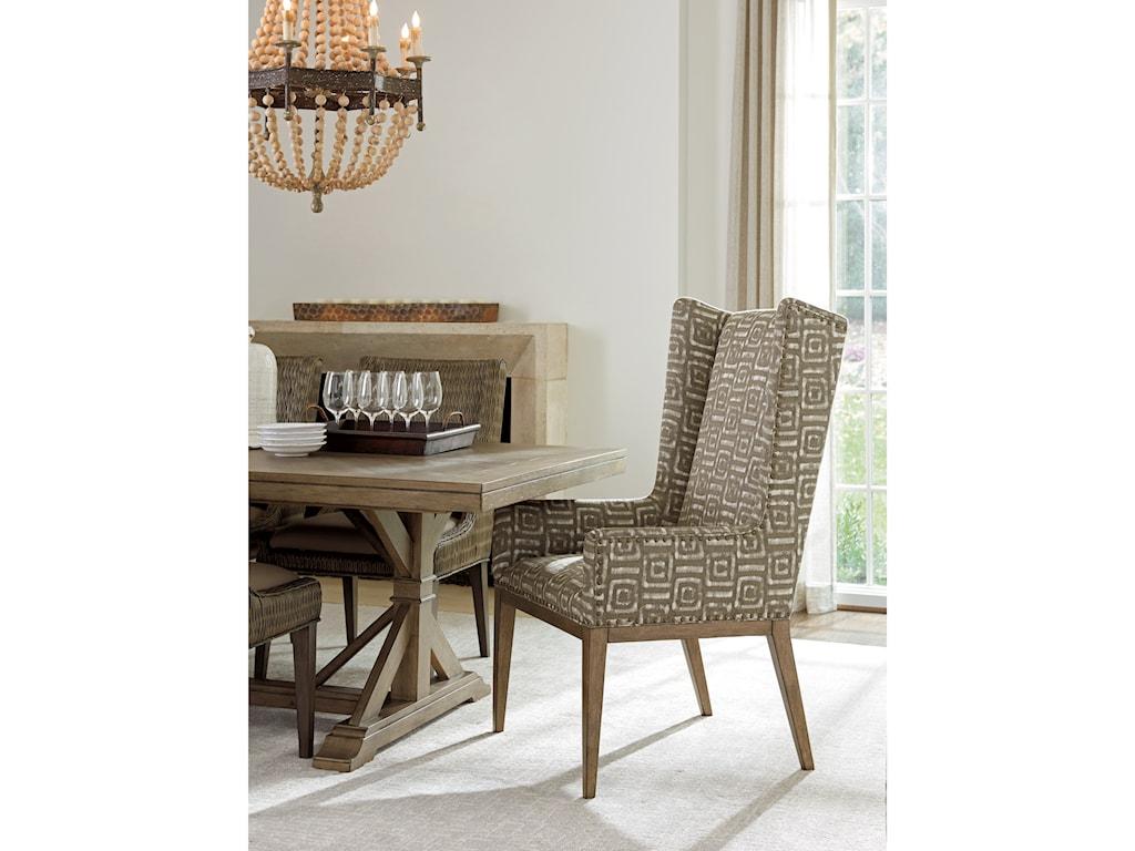 Tommy Bahama Home Cypress PointMilton Host Chair Custom