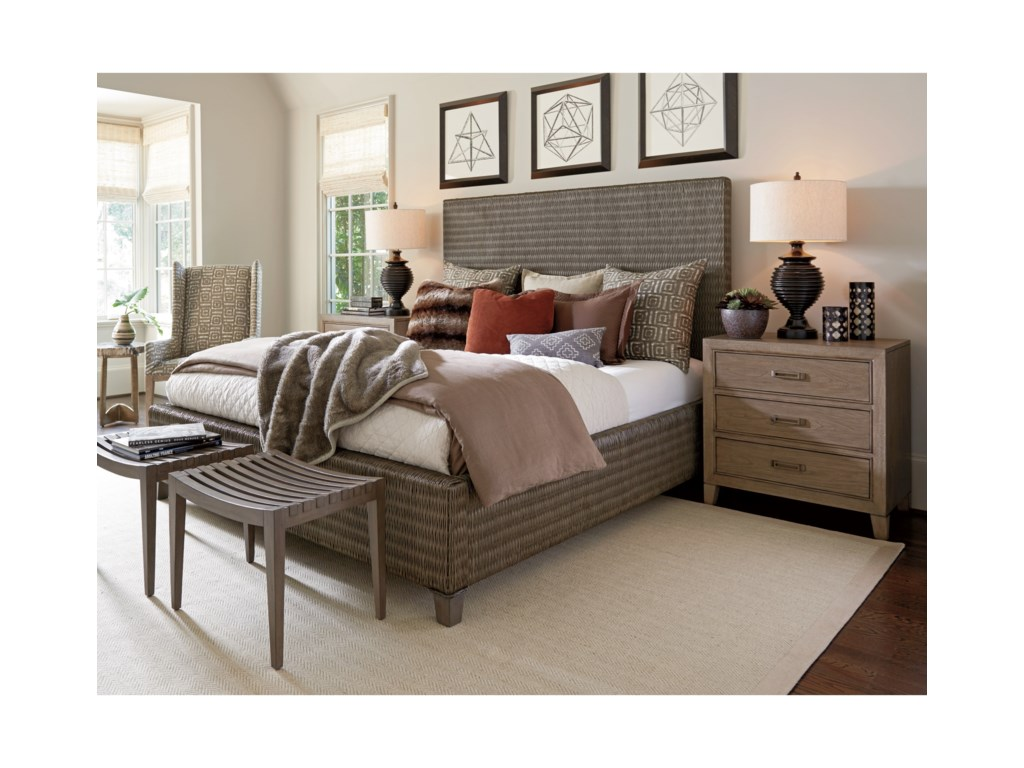Tommy Bahama Home Cypress PointPelham Bed Bench