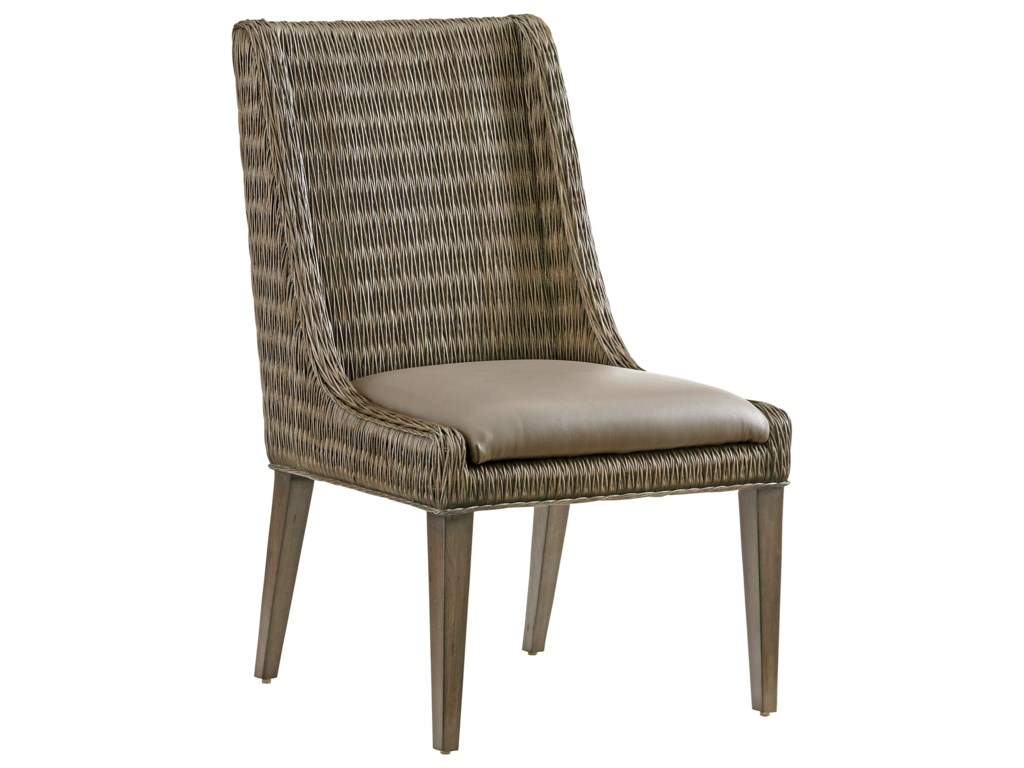 Tommy Bahama Home Cypress PointBrandon Woven Side Chair