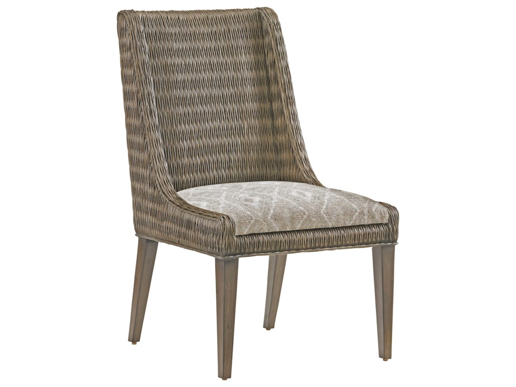 Tommy Bahama Home Cypress PointBrandon Woven Side Chair Custom