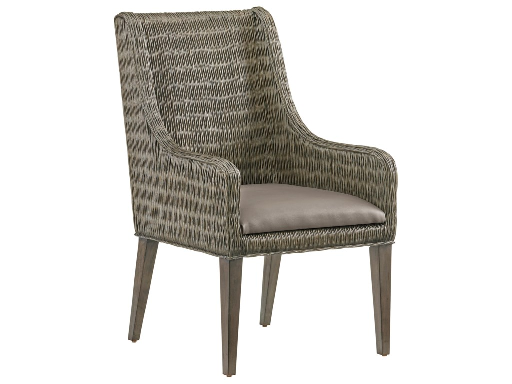 Tommy Bahama Home Cypress PointBrandon Woven Arm Chair
