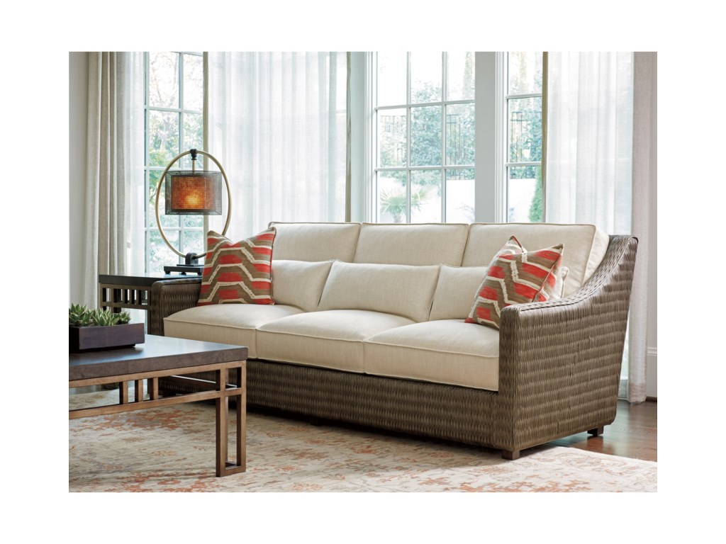 Tommy Bahama Home Cypress PointHayes Sofa