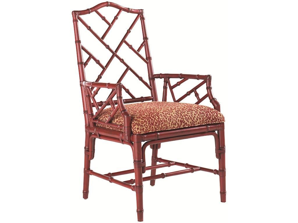 Tommy Bahama Home Island Estate<b>Customizable</b> Ceylon Arm Chair