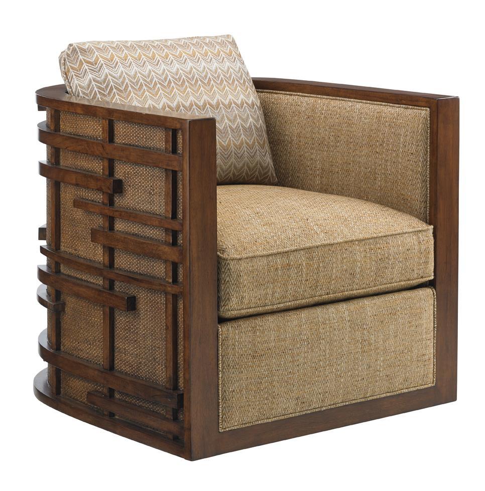 Tommy Bahama Home Island FusionSemerang Swivel Chair ...