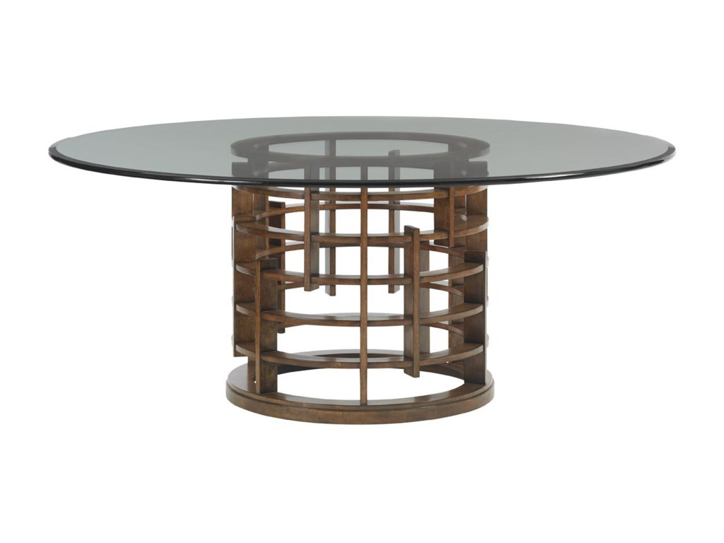 Tommy Bahama Home Island FusionMeridien Dining Table with 72