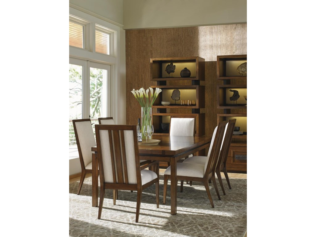Tommy Bahama Home Island Fusion7 Piece Dining Set