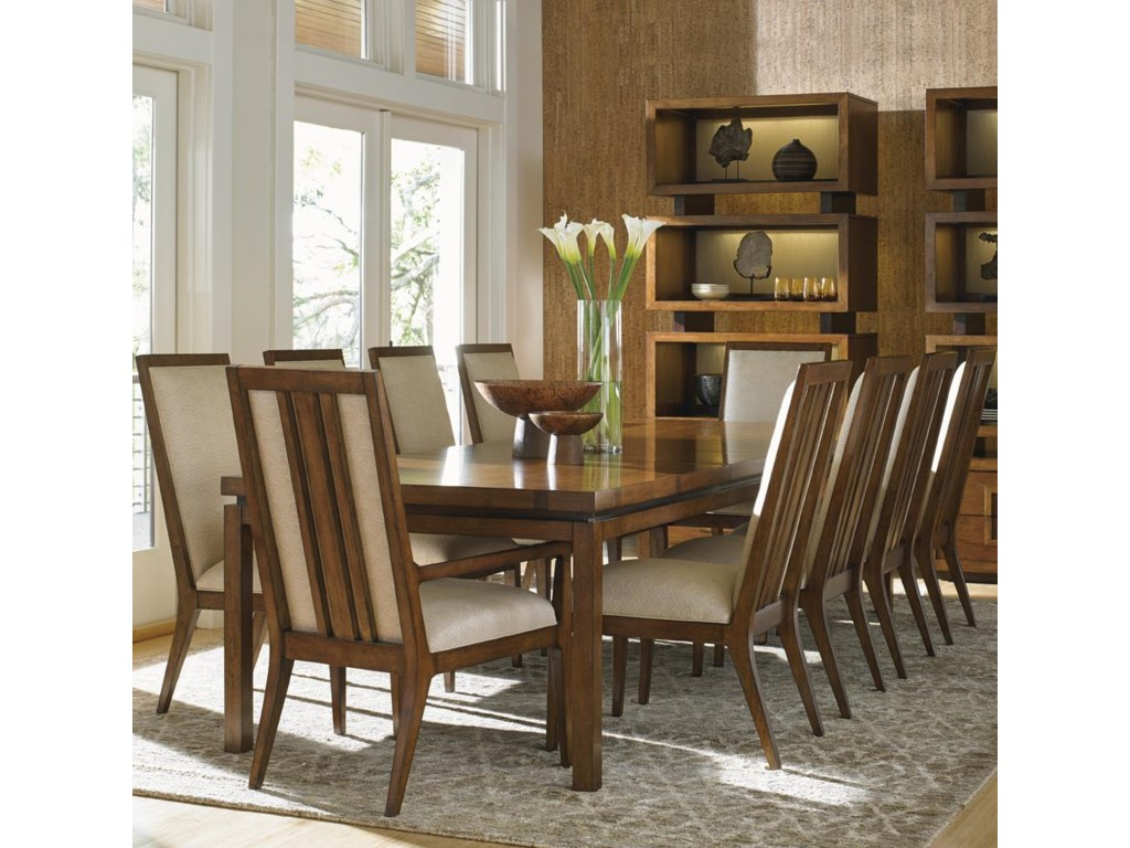 Tommy Bahama Home Island Fusion11 Piece Dining Set
