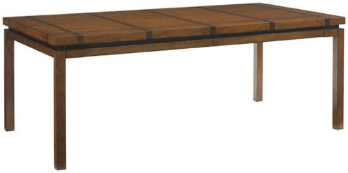 Tommy Bahama Home Island Fusion Marquesa Rectangular Dining Table with Extension Leaves