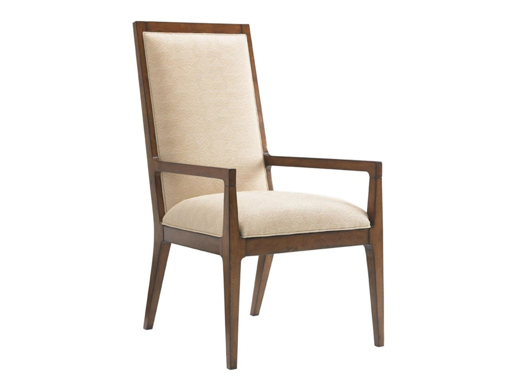 Tommy Bahama Home Island FusionNatori Slat Back Arm Chair