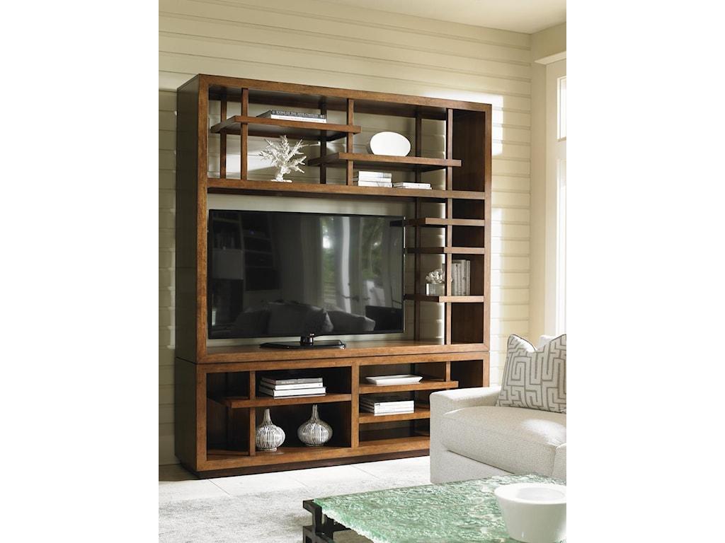Tommy Bahama Home Island FusionTaipei Media Bookcase