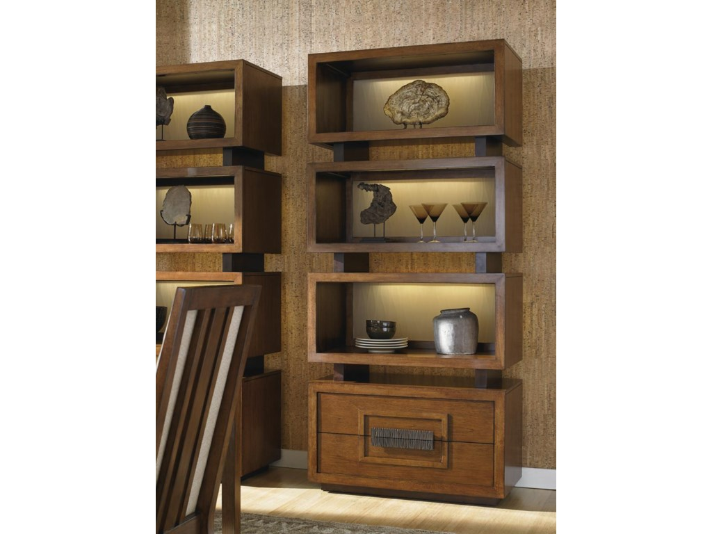 Tommy Bahama Home Island FusionTonga Tiered Bookcase