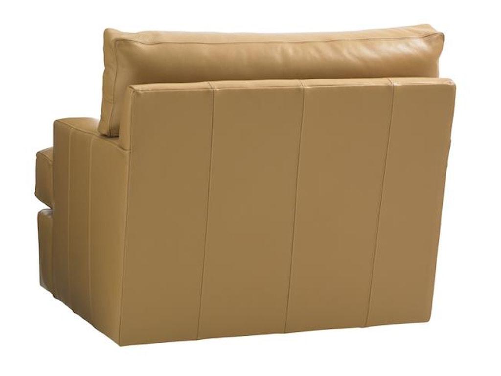 Tommy Bahama Home Island FusionOsaka Leather Swivel Chair