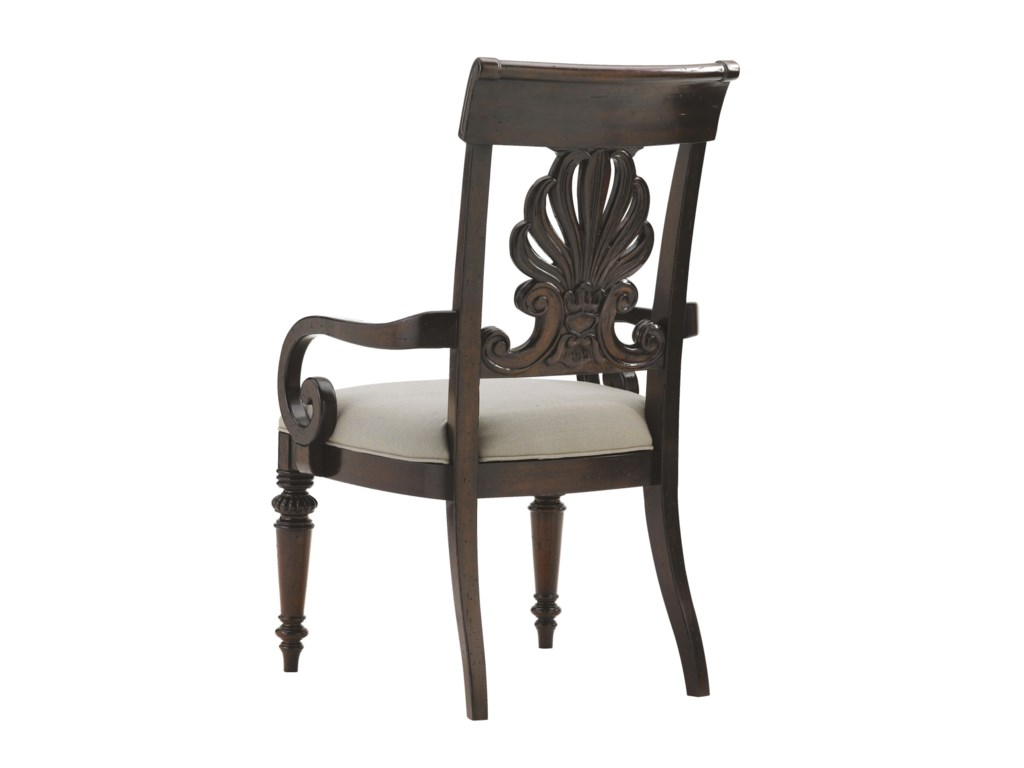 Tommy Bahama Home Island TraditionsChester Carved Arm Chair