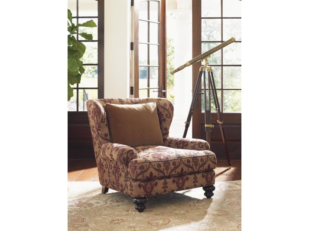 Tommy Bahama Home Island TraditionsKent Chair (married cover)