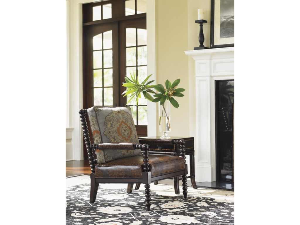 Tommy Bahama Home Island TraditionsMaarten Leather Chair
