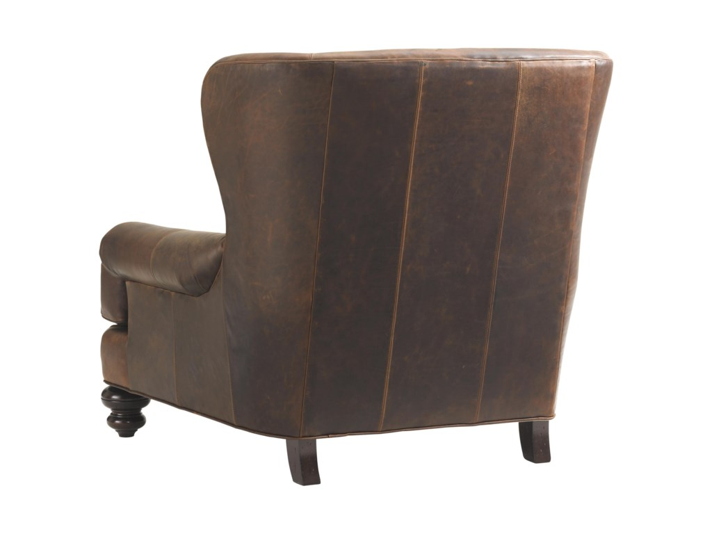 Tommy Bahama Home Island TraditionsKent Leather Chair (married cover)
