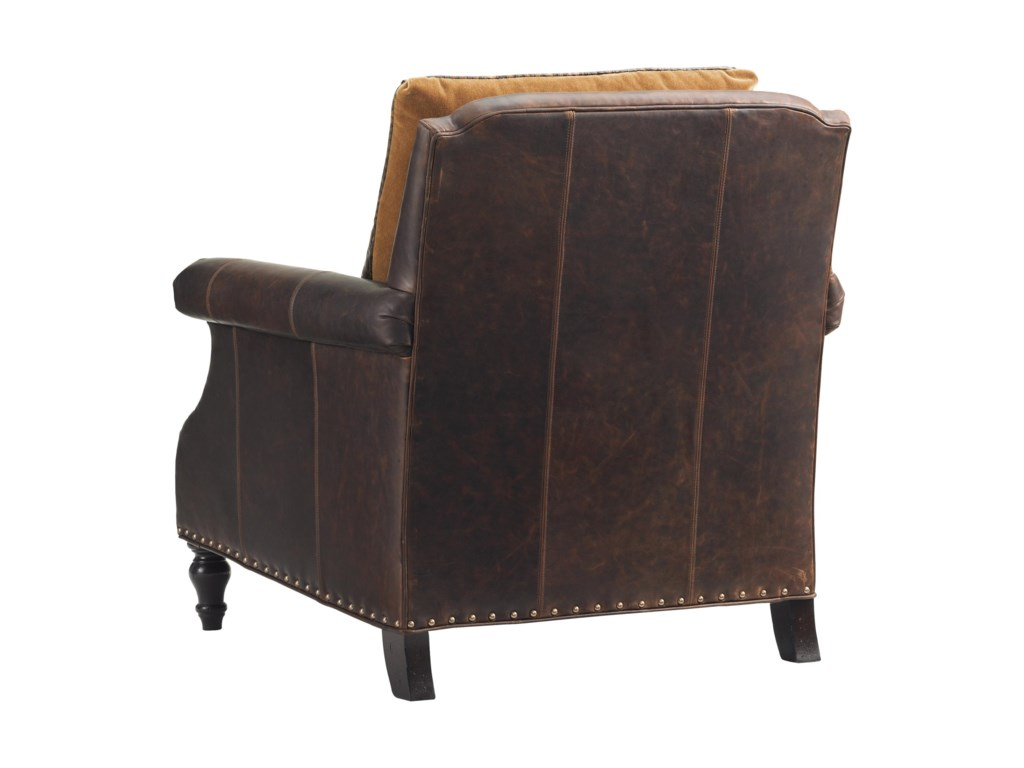 Tommy Bahama Home Island TraditionsBelgrave Leather Chair (married cover)