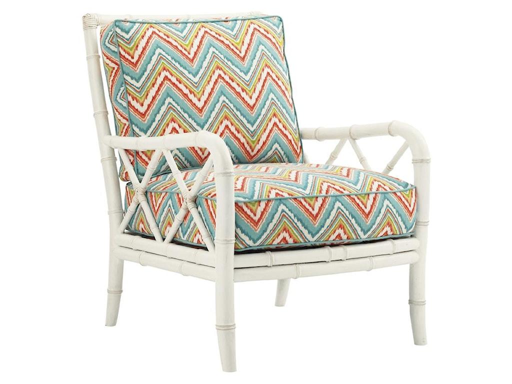Tommy Bahama Home Ivory KeyHeydon Chair