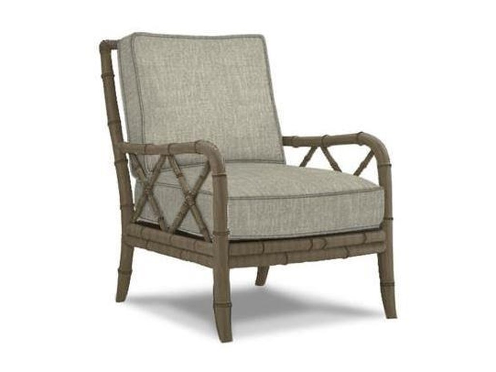 Tommy Bahama Home Ivory KeyChair