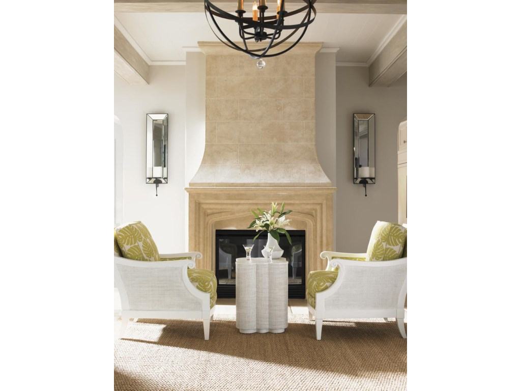 Shown with Spars Point Chairside Table
