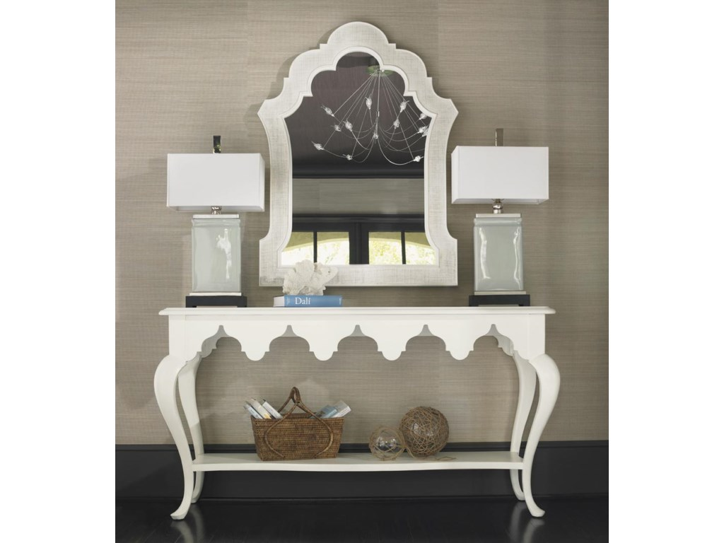 Tommy Bahama Home Ivory KeySandys Mirror
