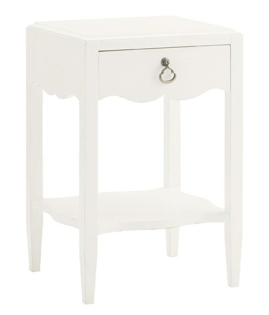Tommy Bahama Home Ivory KeyWater Street Bedside Table