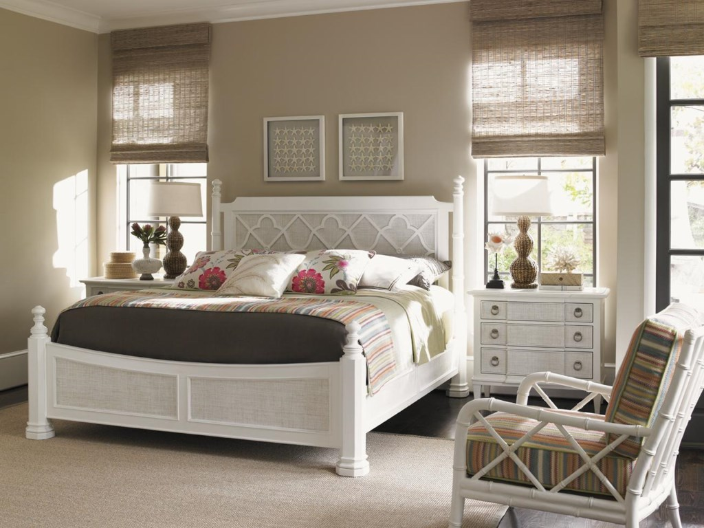 Tommy Bahama Home Ivory KeyTuckers Point Bachelors Chest