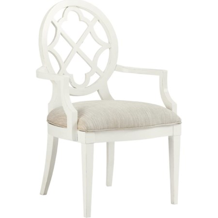 <b>Quickship </b> Mill Creek Arm Chair