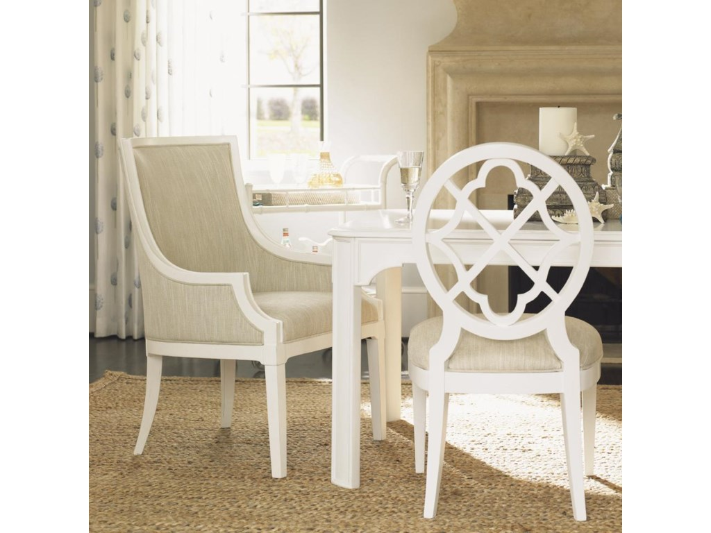 Shown with Castel Harbour Dining Table and Mill Creek Side Dining Chair
