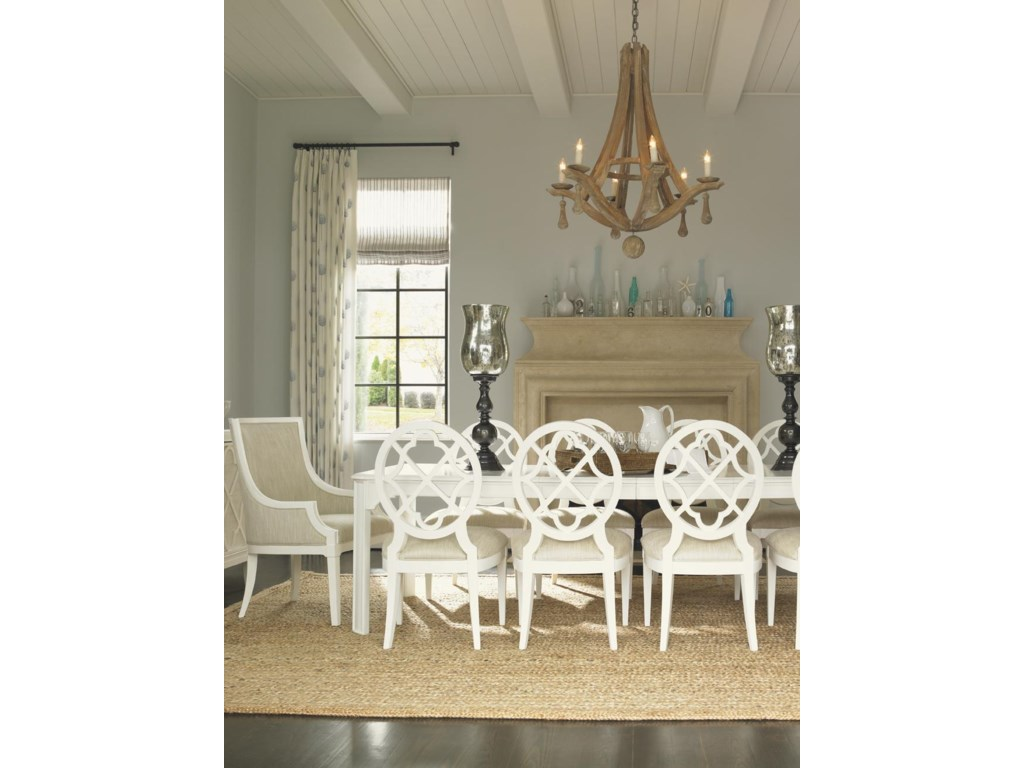 Shown with Castel Harbour Dining Table and Mill Creek Side Dining Chairs