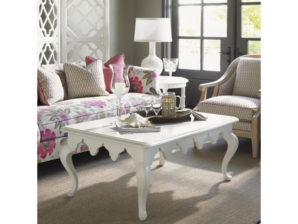 Shown with Edgehill Round Lamp Table, Shoal Bay Chair and Swan Island Sofa