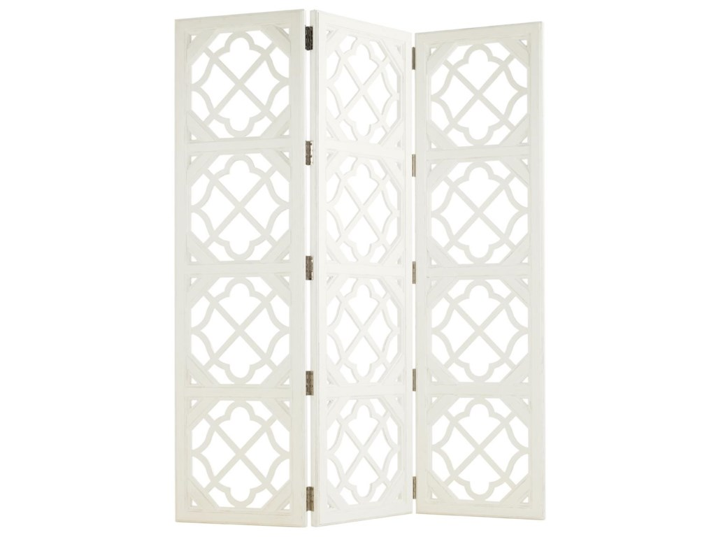Tommy Bahama Home Ivory KeyAbbotts Landing Folding Screen