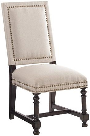 Tommy Bahama Home Kilimanjaro Quickship Cape Verde Upholstered Side Chair in Clarendon Fabric