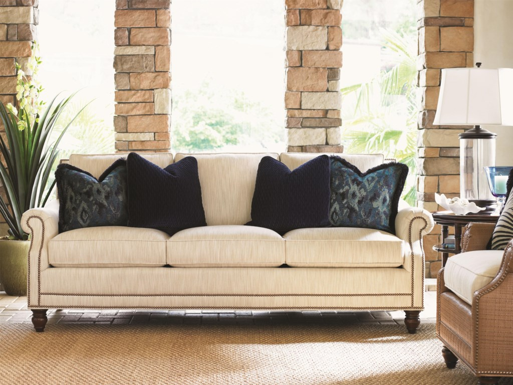 Tommy Bahama Home LandaraShoal Creek Sofa