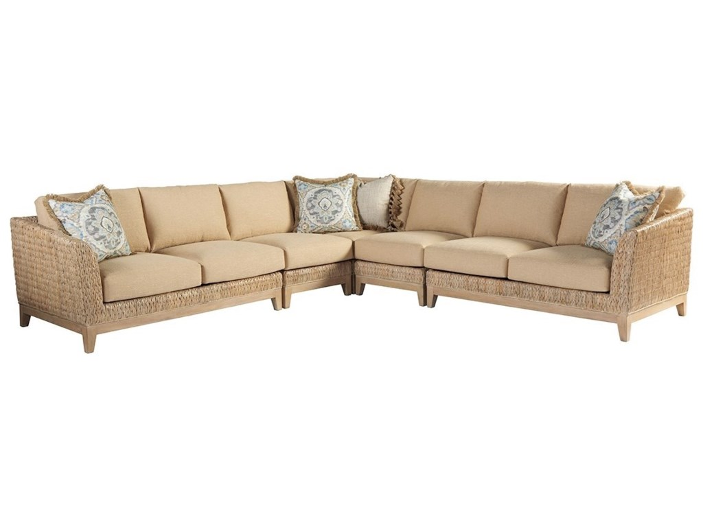 Tommy Bahama Home Los AltosBrisbane 5 Pc Sectional