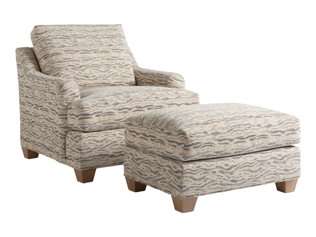 Tommy Bahama Home Los AltosBarton Chair & Ottoman Set