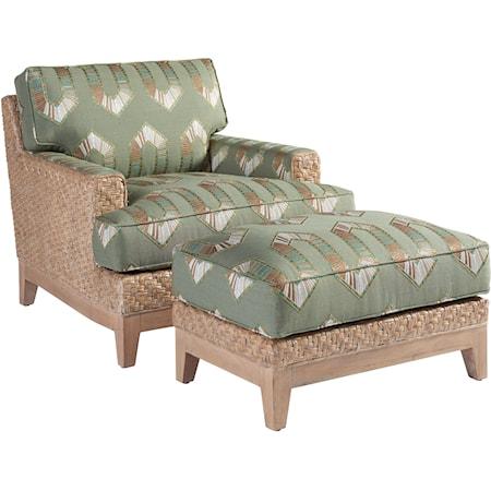 Danville Chair & Ottoman