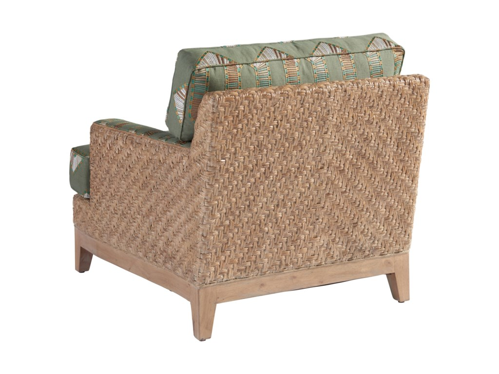 Tommy Bahama Home Los AltosDanville Chair & Ottoman