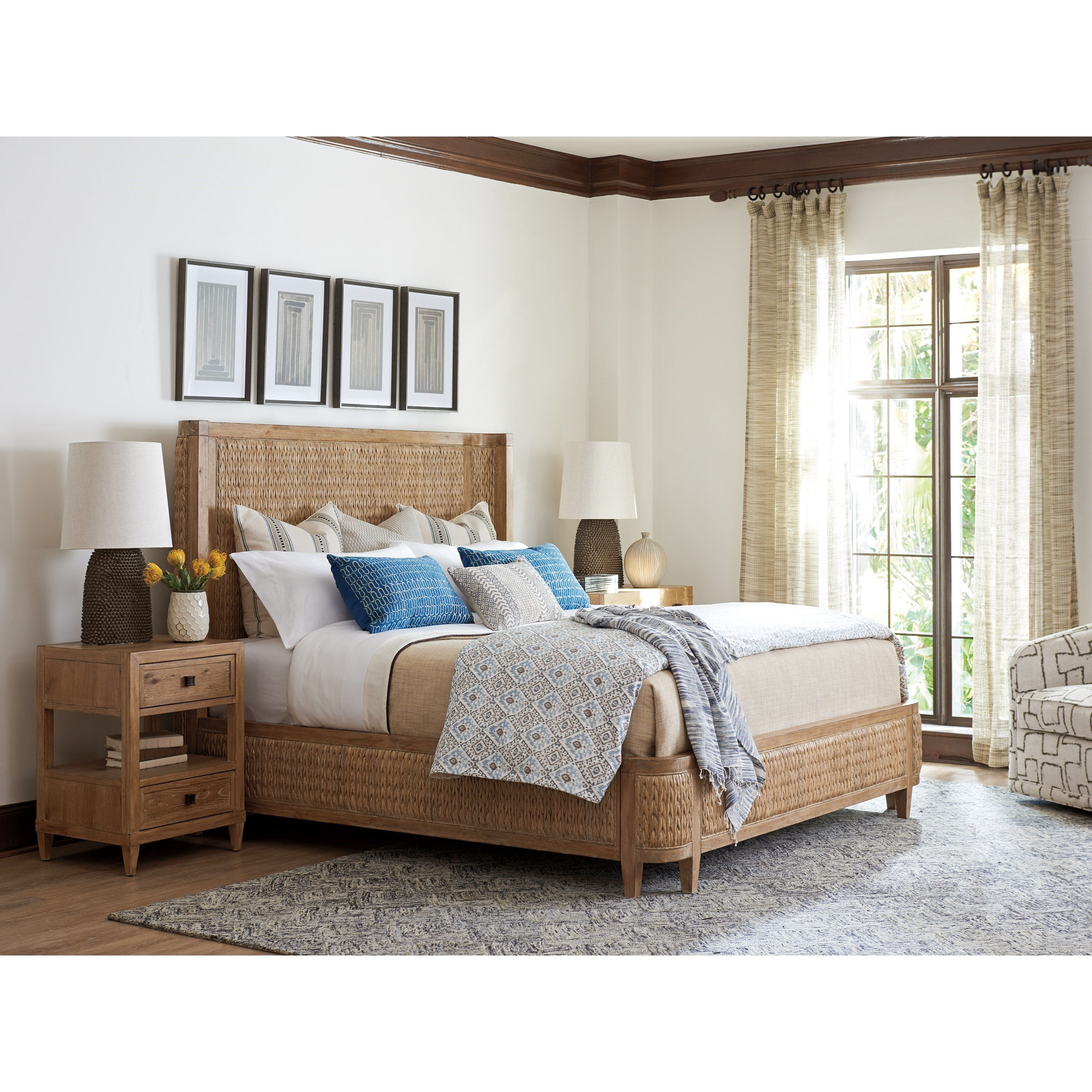 Merveilleux Los Altos Queen Bedroom Group By Tommy Bahama Home At Baeru0027s Furniture
