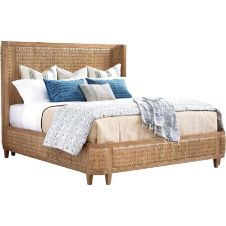 Ivory Coast Woven Bed 6/6 King