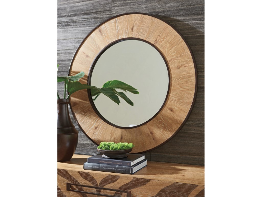 Tommy Bahama Home Los AltosCarins Round Mirror