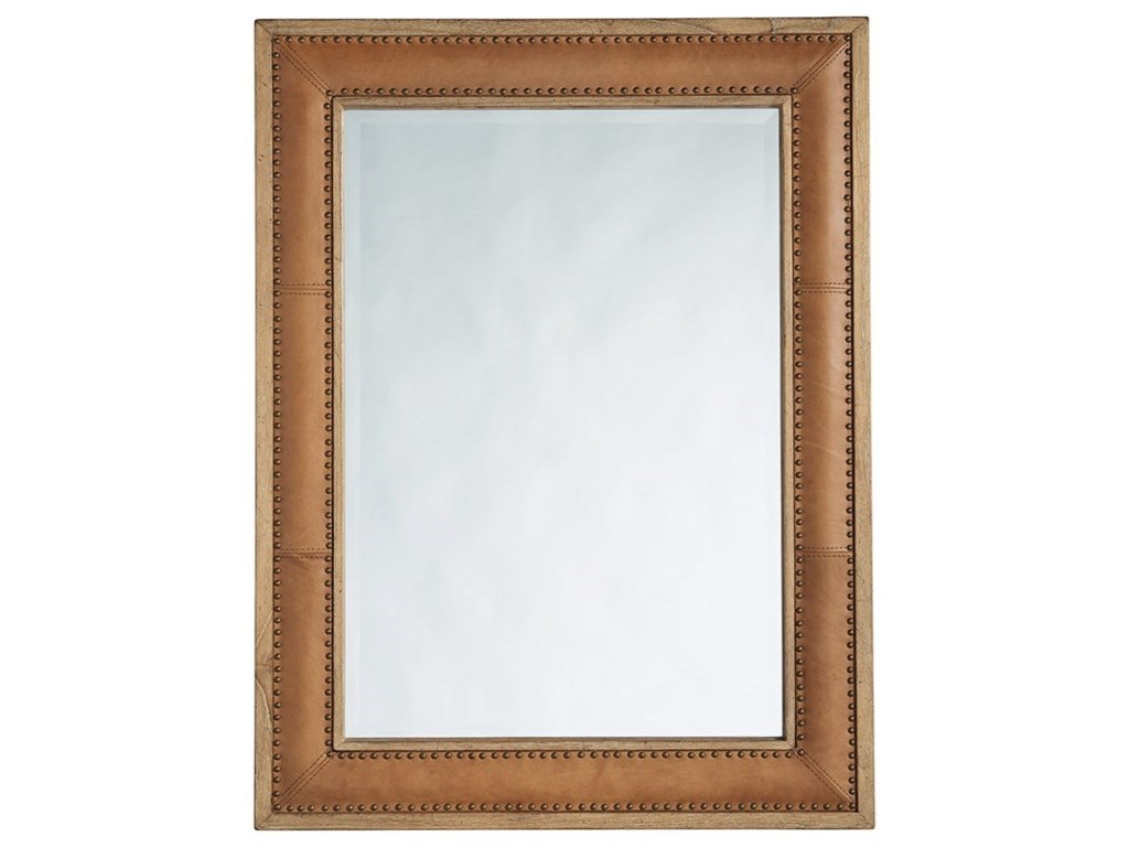 Tommy Bahama Home Los AltosDominica Leather Rectangular Mirror