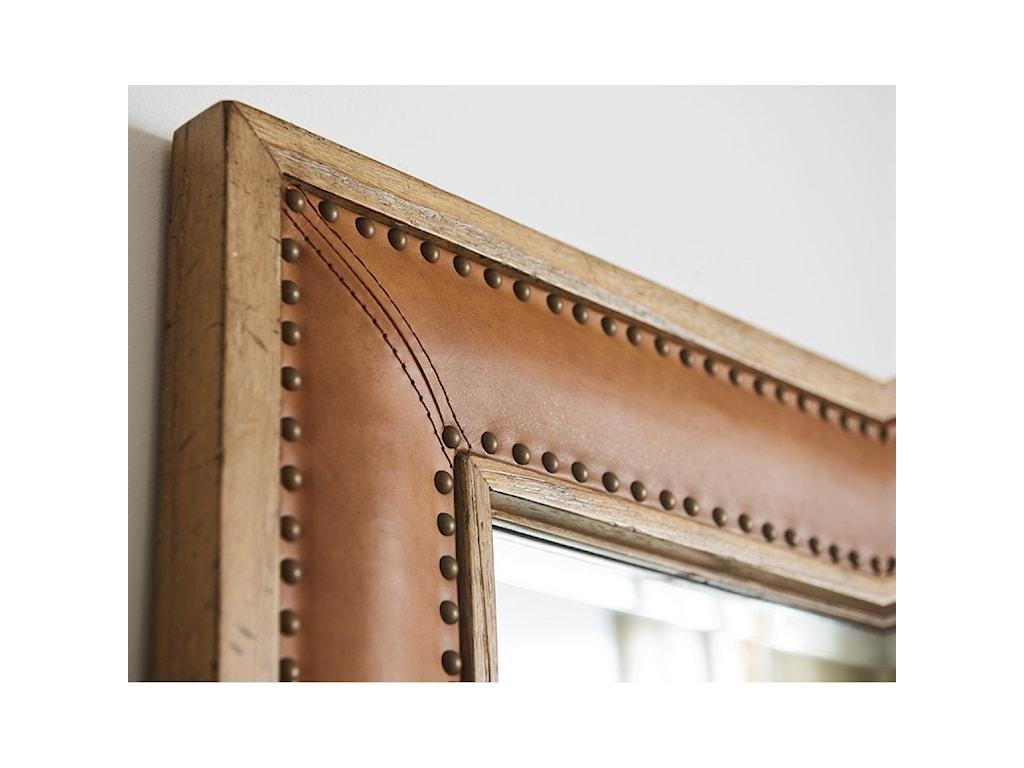 Tommy Bahama Home Los AltosDominica Leather Rectangular Mirror